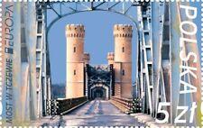 POLAND 2018 EUROPA CEPT BRIDGES 1 ST MNH PRE ORDER