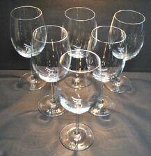 NEW-GALA 16OZ. CRYSTAL WINE GLASSES (BOX OF 6) SLOVAKIA