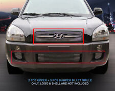 For 2005 - 2009 Hyundai Tucson 2006 2007 Billet Grille Grill Combo Grill