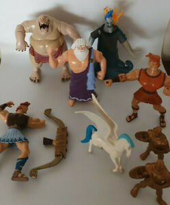 1990s Disney Hercules Figures