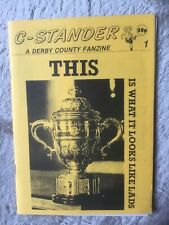DERBY COUNTY C-STANDER FANZINE ISSUE NO.1 1990 RARE