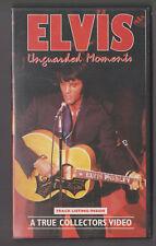 Elvis Unguarded Moments, A True Collector's Video, Vhs Video