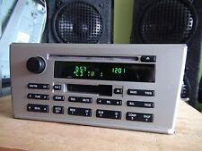 Lincoln LS 2003-2005 CD Cassette player Combo base model 3W4T18C868AF TESTED