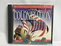 Sid Meier's Colonization Create a Nation  (PC Game CD ROM Disc) In Case
