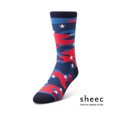 Sheec TrouSox -Patriotic Socks (USA CAMO) -Flag, Independence, Memorial, Stars