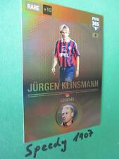 Fifa 365 Legends Klinsmann #9 München Legend Panini Adrenalyn Trading Rare 2017