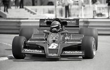 RONNIE PETERSON LOTUS 78  LONG BEACH US GRAND PRIX WEST PHOTOGRAPH 1978 CLOSE UP