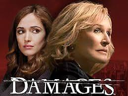 Damages : Season 4 (DVD, 2012, 3-Disc Set)