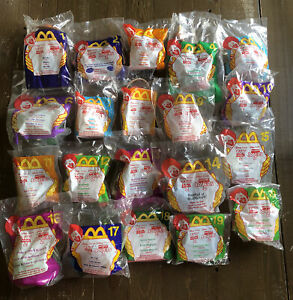 McDonald's Happy Meal Toy 1999 TOY STORY 2 Complete Set (20) Figures Woody Buzz
