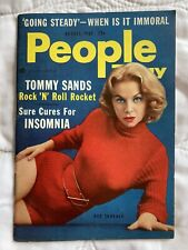 People Magazine Aug, 1957 NY USA Gus Thorner Janet Lake Cannes Film Festival 50s
