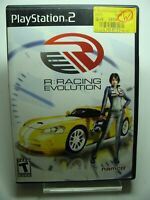R: Racing Evolution (Sony PlayStation 2, 2003) -Tested Working
