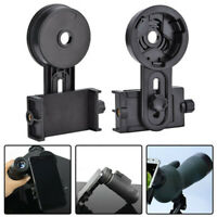 Cell Phone Holder Adapter Mount Binocular Monocular Spotting Scope Telescope New