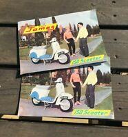 Vintage Official The James 150 Scooter Brochure / Leaflet