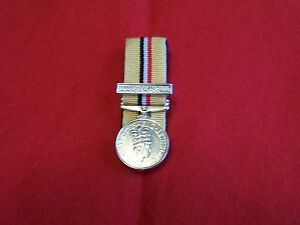 1 MINIATURE MEDALS COURT MOUNTED READY FOR WEAR