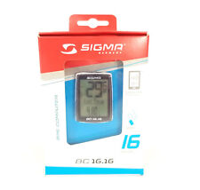 SIGMA BC16.16 Wired Cycling / Bicycle Computer 16 Functions BC 16.16