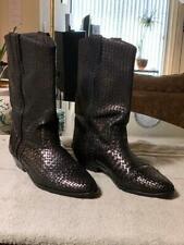 Cole Haan Bragano Weaved Cowboy Boots 12M