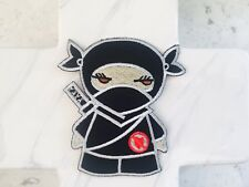 Ninja Covert Child Martial Art Self Defence  Iron On Patches Patch