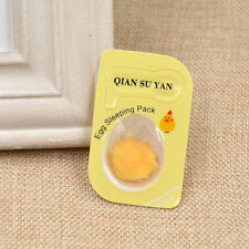 Egg Whitening Wash Free Mask Sleeping Pack Skin Clear Face Mask Peel Beauty