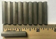 Lot Of 10 Aluminum Standoffs 14 Hex Female Female 8 32 Thread 1 14 Length