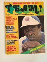 Team Magazine October 1973 - Hank Aaron on Cover