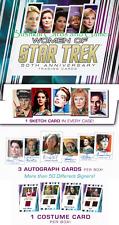 2017 Women of Star Trek 50th Anniversary MASTER SET w Parallels & Archive Box Ex