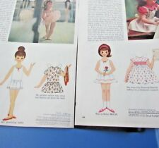 Betsy McCall Paper Doll Dancing School Gets A Piano Vhtf 1962 Original Two
