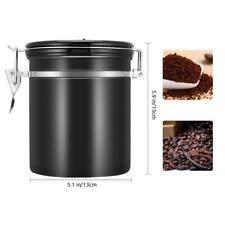 Edelstahl Kaffeedose Vorratsdose Frischhaltedose Kaffeebehälter Luftdicht Können