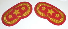 Civil War Union Artillery Army General Staff Officer Uniform Collar Badge Cannon