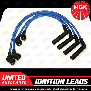 NGK Spark Plug Ignition Lead Set for Hyundai Excel X3 Getz TB S Coupe 1N 4Cyl