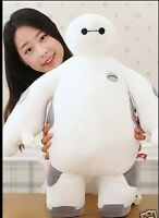 White Big Hero 6 Baymax Robot Plush Stuffed Toys 40cm Cushion Kid Birthday Gifts