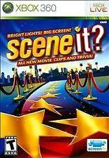 Xbox 360 Scene It? Bright Lights! Big Screen! VideoGames