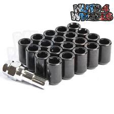 Black Tuner Wheel Nuts x 20 12x1.25 Fits Toyota GT86 Subaru BRZ