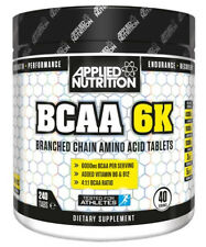 Applied Nutrition BCAA 6K - 240 Tabs Caps Tablets 4:1:1 Branch Chain Amino Acids