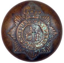 WORLD WAR I. KINGS CROWN. 1st KING'S DRAGOON GUARDS. TUNIC BUTTON  #015