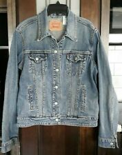 """EXCELLENT"" - Men's Levi Strauss Denim Trucker Jacket Size XL"