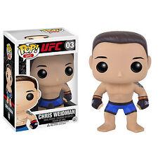 Funko UFC POP Chris Weidman Vinyl Figure NEW Toys Collectibles Ultimate Fighting