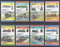 Leaders of the World. Trains. Grenadines St Vincent.Full Set Series 2. LW255