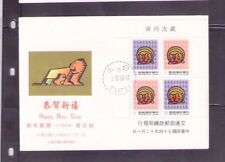 Taiwan RO China 1986., Year of the Tiger , MS on fdc