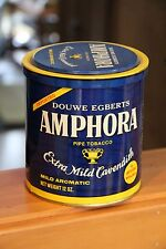 Vintage Tobacco Tin w/ top, Amphora, Douwe Egberts Imported, collectible