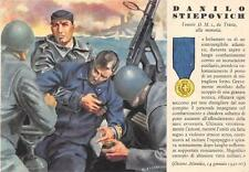 A9680) WW2. MO. DANILO STIEPOVICH DA TRIEST, SOMMERGIBILE, CORRIDONI.