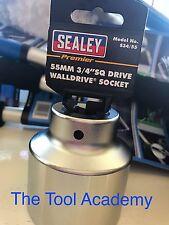 SEALEY CHROME VANADIUM SOCKET 55mm 3/4 DRIVE - 12 POINT BI-HEX