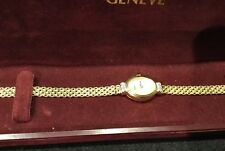 14k ladies Yellow gold watch
