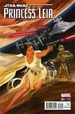 STAR WARS PRINCESS LEIA #1 ALEX ROSS 1:50 VARIANT NM DARTH VADER LUKE YODA R2-D2
