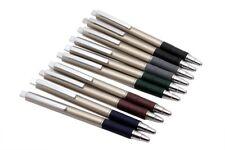 Lot Of 10 - Reynolds Jetter Metallic FX Ballpoint Pen Metal Body & Rubber Grip