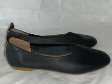 Everlane Women's The Italian Leather Day Glove Black Shoes Size 7.5 Ballet Flats