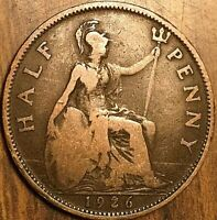 1926 UK GREAT BRITAIN HALF PENNY