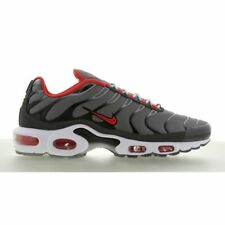 NEW Men's NIKE Air Max Plus Running Grey Red CI3714-001 Size 9.5 Rare Athletic