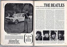 OEIGINAL VINTAGE PLAYBOY FEBRUARY 1965 ; VARGA ; KIM NOVAK ; BEATLES INTERVIEW