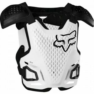 Fox R3 Motocross Body Armour Adult White Sizes  S/M or L/XL