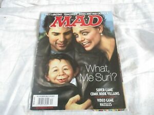 MAD MAGAZINE U.S. IMPORT EDITION DECEMBER 2006 SUPER-LAME COMIC BOOK HEROES